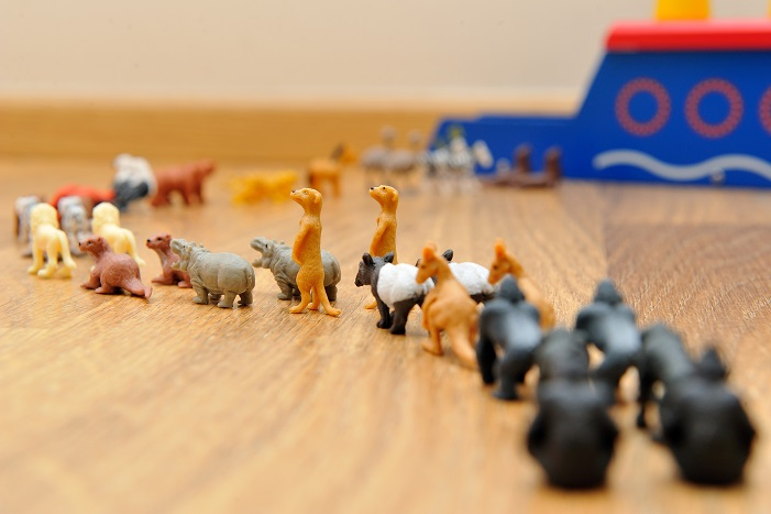 toy animals two by two