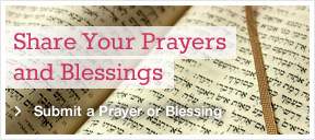 Share Your Prayers and Blessings