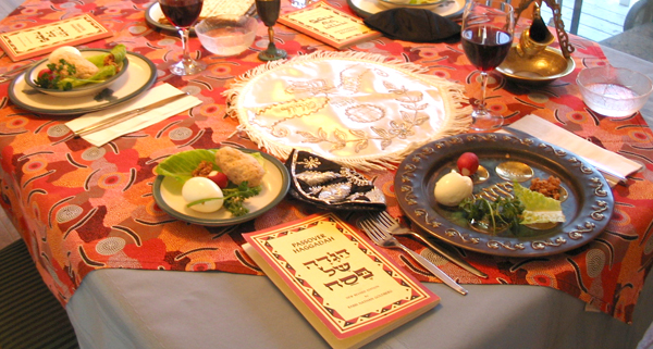 Image result for seder table images