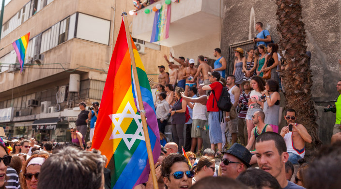LGBTQ rally in Israel