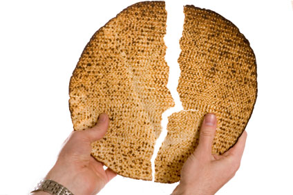 matzah for the Jewish holiday of Passover