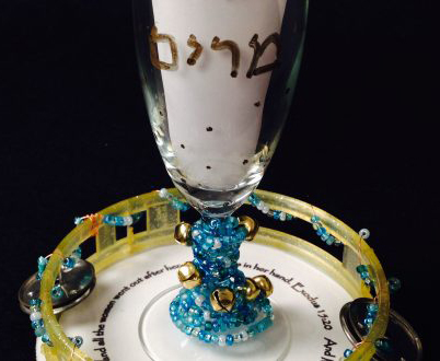 Make a Miriams Cup for the Passover seder with your children