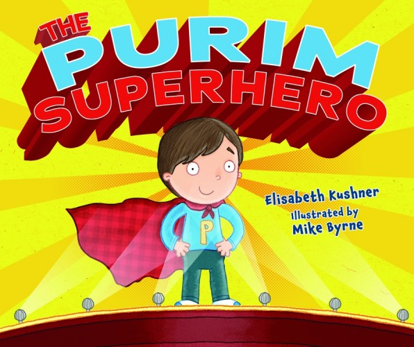 Book Cover of Purim Superhero for the Jewish Holiday of Purim