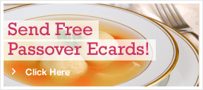 Send a free Passover Ecard