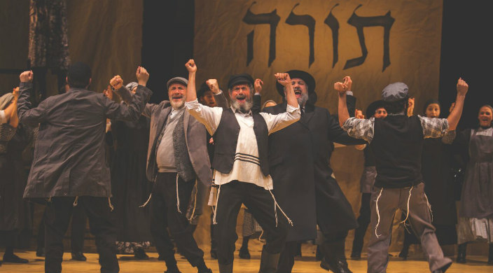 Dancing scene from Fiddler on the Roof