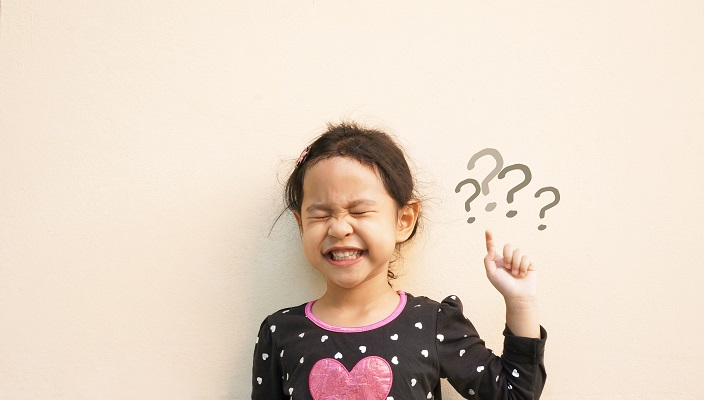 Little Girl with questions