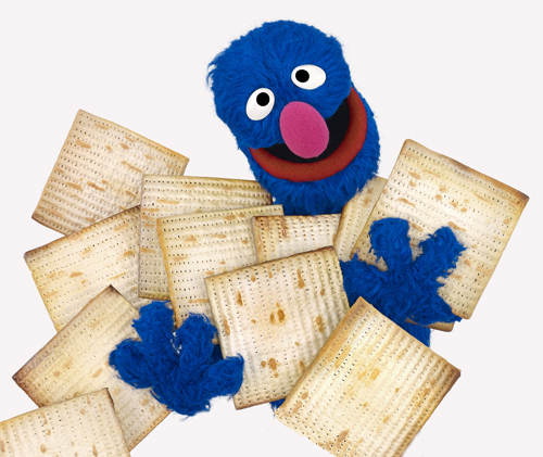 Celebrate Passover with Grover and the characters from Shalom Sesame the Jewish Sesame Street