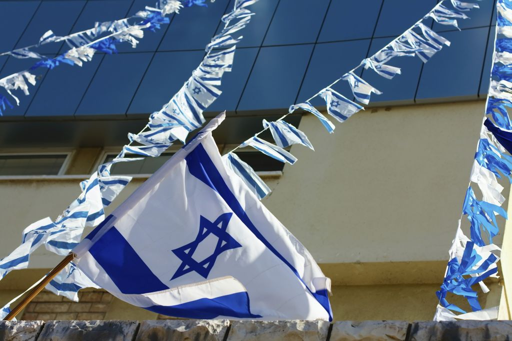 An Israeli Flag for Yom HaAtzmaut