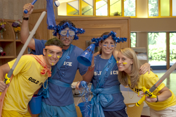 Color War at URJ Six Points Sports Camp