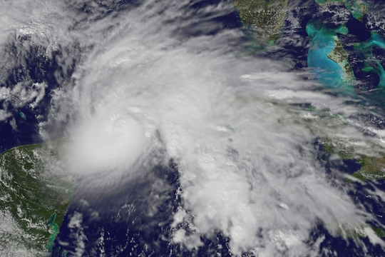 NASA image of Hurricane Ida