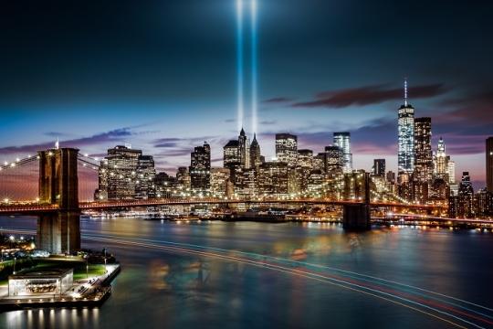 -feature-nine eleven memorial light