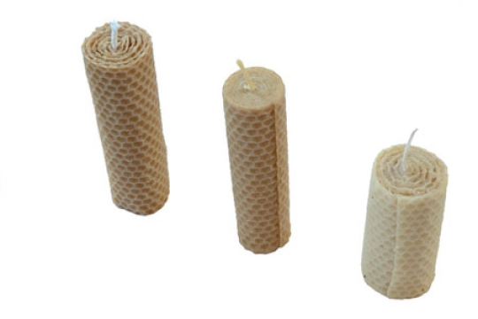 beeswax candles for the Jewish holiday of Shabbat