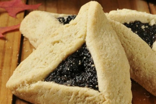 Hamantaschen for the Jewish Holiday of Purim