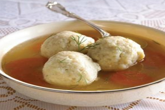 A recipe for Kneidlach or Matzah Balls for the Jewish holiday of Passover or Pesach