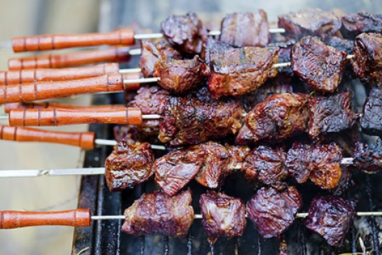 Israeli Shishlik (Grilled Skewered Meat)