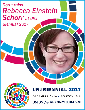 URJ Biennial 2017 presenter Rebecca Einstein Schorr
